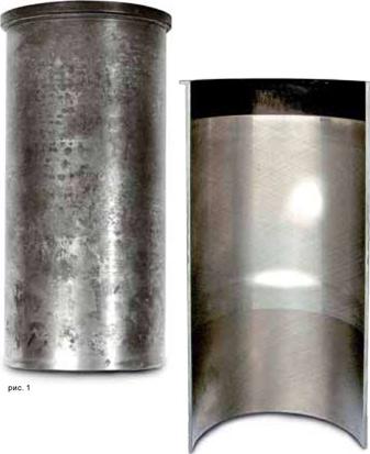 Неравномерный износ цилиндра