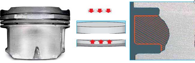 Поломки перемычек между кольцами